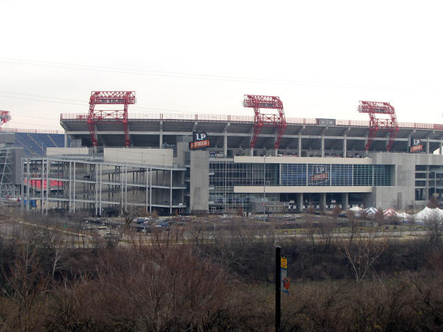 LP Field: Home of the Tennessee Titans
